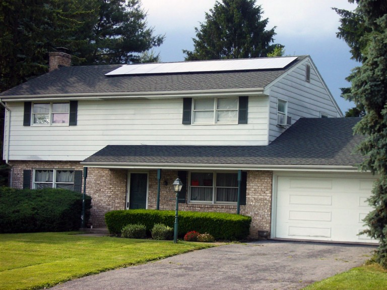 Sky Solar Solutions installed this 2.3 kW solar panel system in Harrisburg, PA