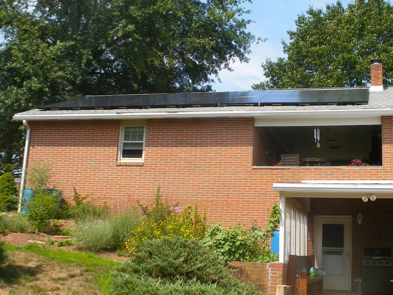 Sky Solar Solutions installed a 52 panel array at this home in Pennsburg, PA