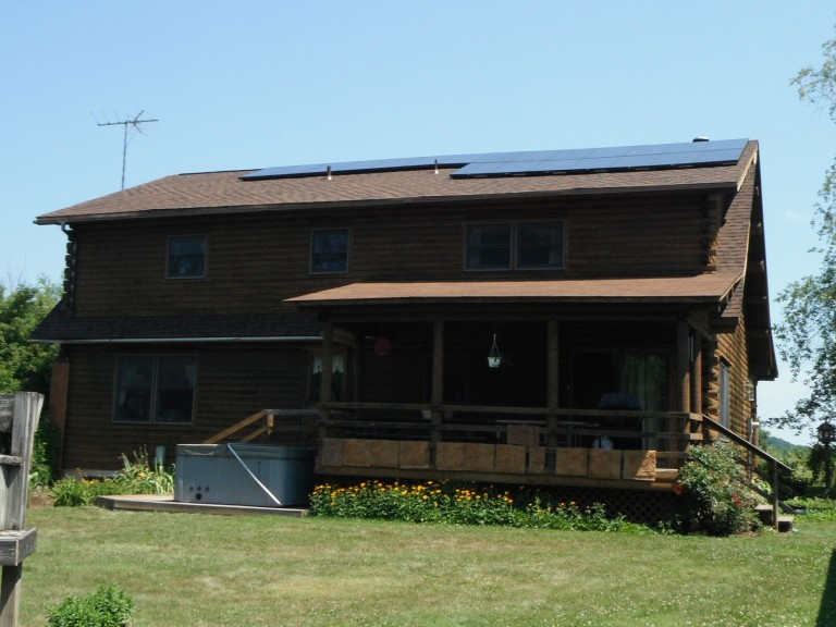 Sky Solar Solutions installed this 3.6 kW solar panel system in Douglass Township, PA